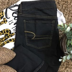 NWOT American Eagle Outfitters Black Skinny Jeans